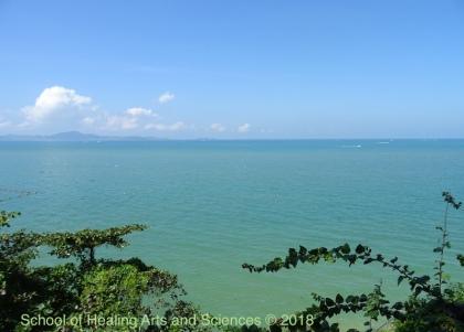 タイ、シャム湾とラン島